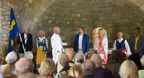 traditionsenligt svenska nationaldagsfirande i Frankrike noice